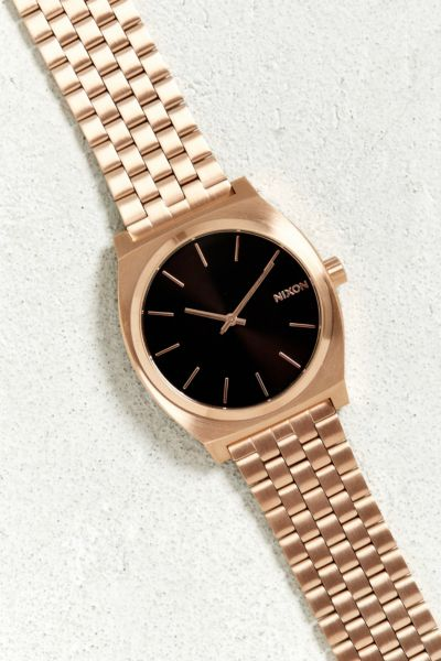 Nixon Time Teller Watch - Rose One Size at Urban Outfitters