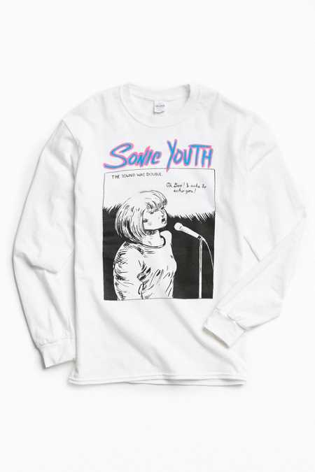Sonic Youth Echo Long Sleeve Tee