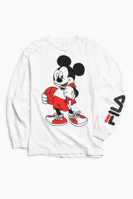 FILA X Disney Basketball Long Sleeve Tee