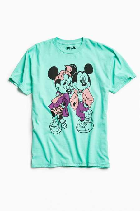 Disney X FILA Mickey + Minnie Mouse Squad Tee