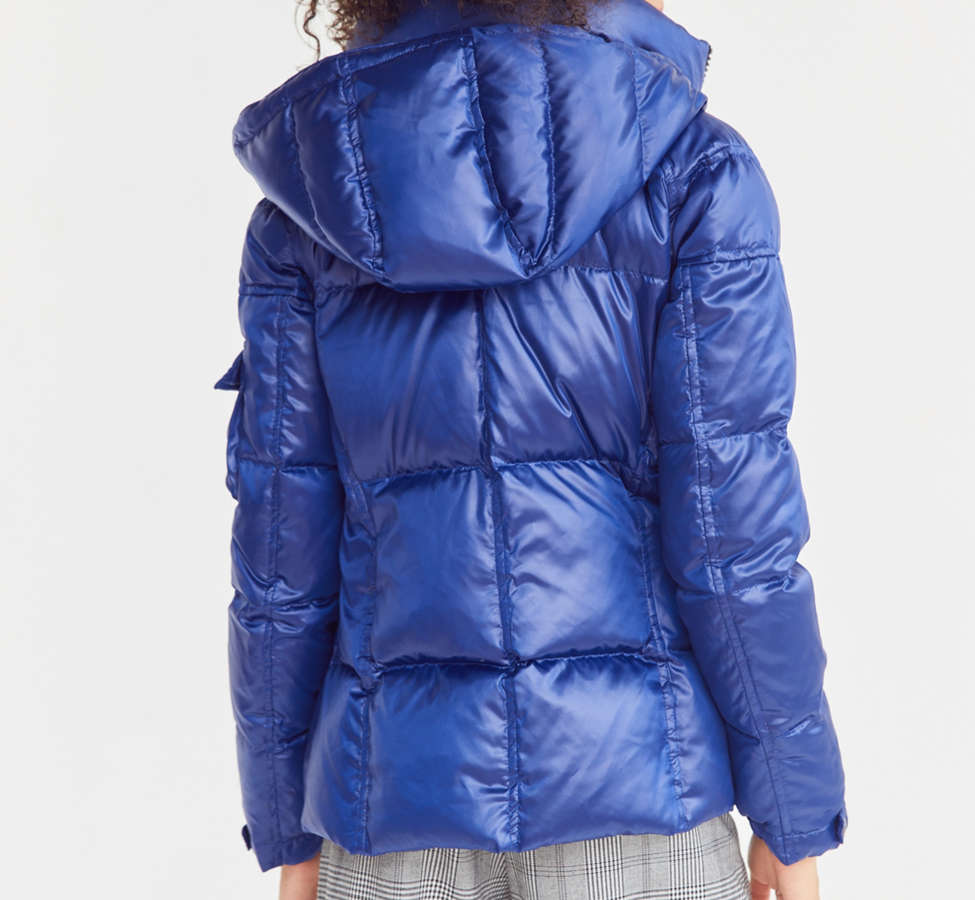 Slide View: 3: S13 Kylie Quilted Puffer Jacket