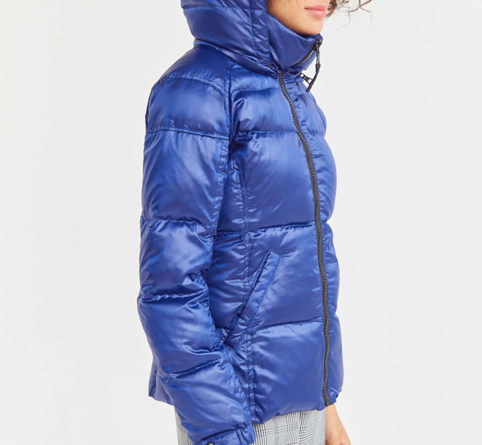 Slide View: 6: S13 Kylie Quilted Puffer Jacket