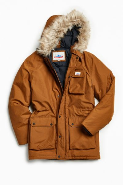 Penfield Lexington Parka Jacket - Brown S at Urban Outfitters