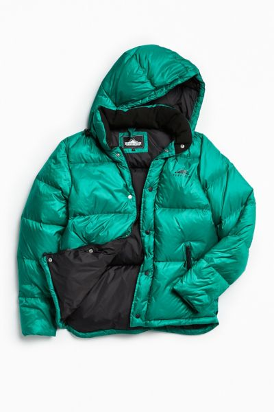 Penfield Equinox Hooded Puffer Jacket - Green S at Urban Outfitters