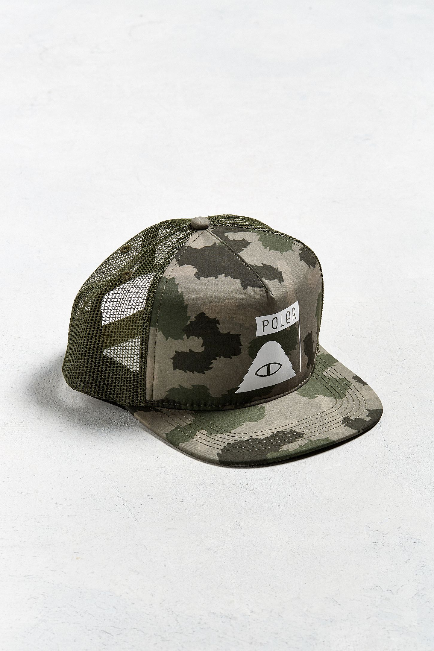 407ee7e2666 Poler Summit Camo Trucker Hat