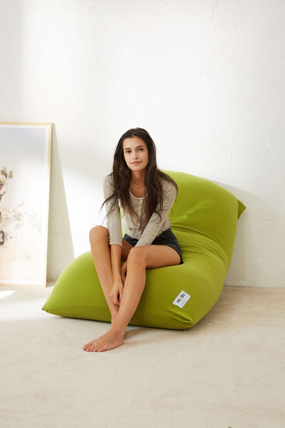 Slide View: 1: Yogibo Midi Oversized Lounge Cushion