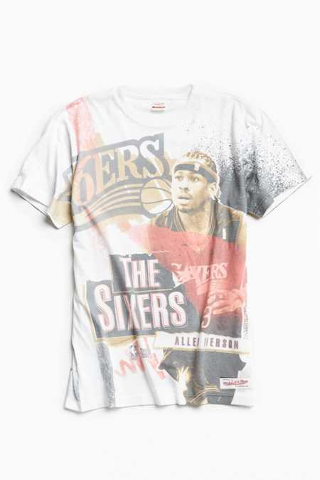 Mitchell & Ness Allen Iverson Break Boards Tee