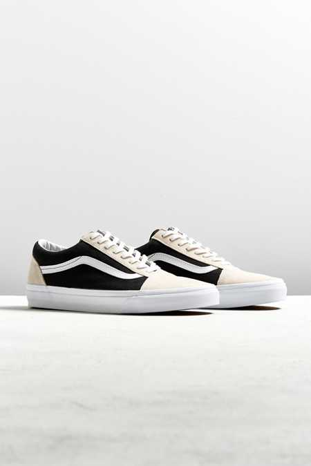 Vans Old Skool Black + Birch Two-Tone Sneaker