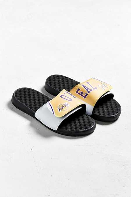 ISlide Shaquille O'Neal Los Angeles Lakers Retro Slide Sandal