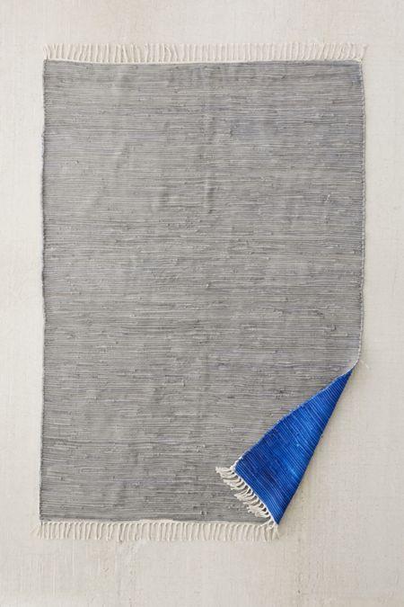 Reversible Color Block Rug