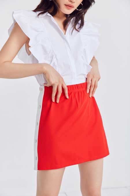 Silence + Noise Tearaway Mini Skirt
