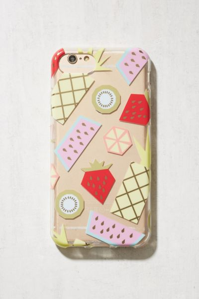Fruit Slice iPhone 6/7 Case - Multi One Size at Urban Outfitters