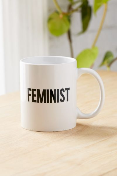 Feminist Mug - Black Multi One Size at Urban Outfitters