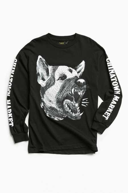 Chinatown Market Doberman Long Sleeve Tee