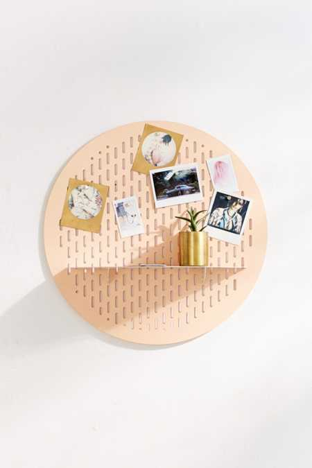 Circle Magnet Board Shelf