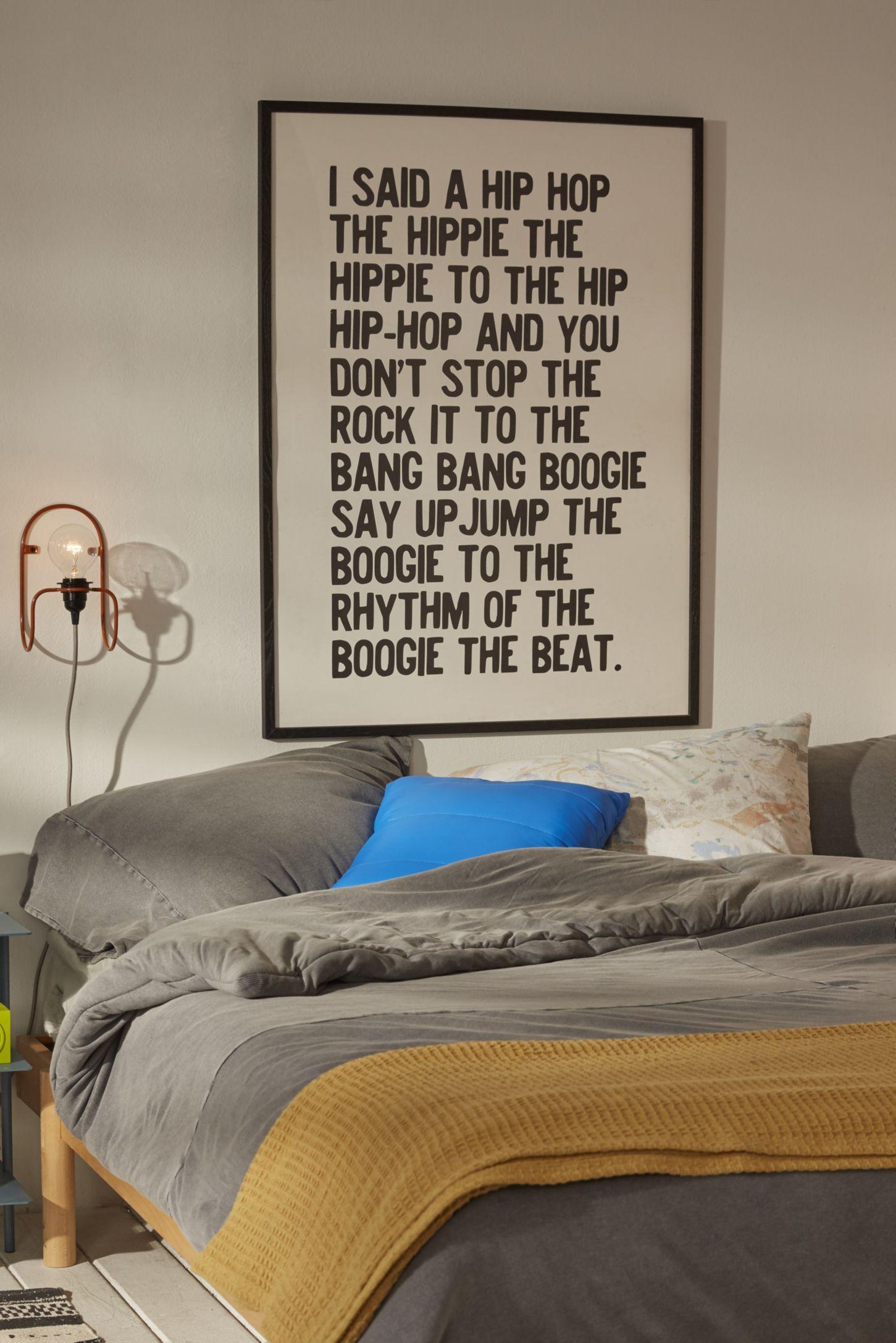 Honeymoon Hotel Rapper s Delight Art Print. Apartment  Art   Room D cor   Urban Outfitters