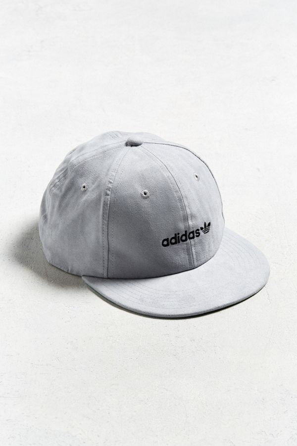 5b68730e9d3 adidas Faux Suede Relaxed Strapback Hat