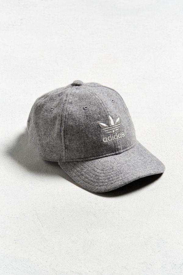 adidas Wool Relaxed Baseball Hat  c72024bff1e