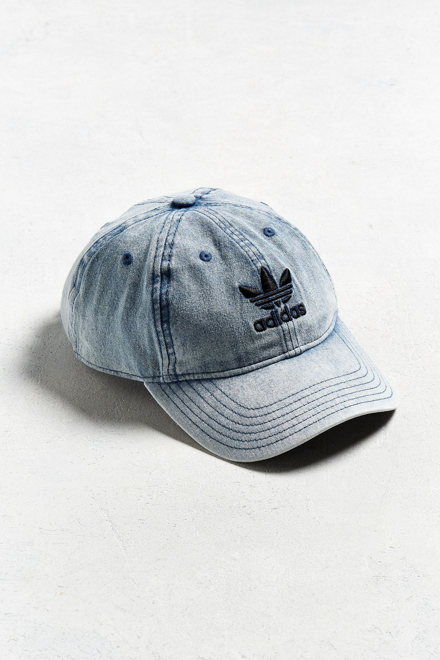 adidas Originals Relaxed Denim Baseball Hat  2914608ed64