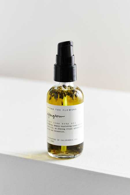 Among The Flowers Body Oil