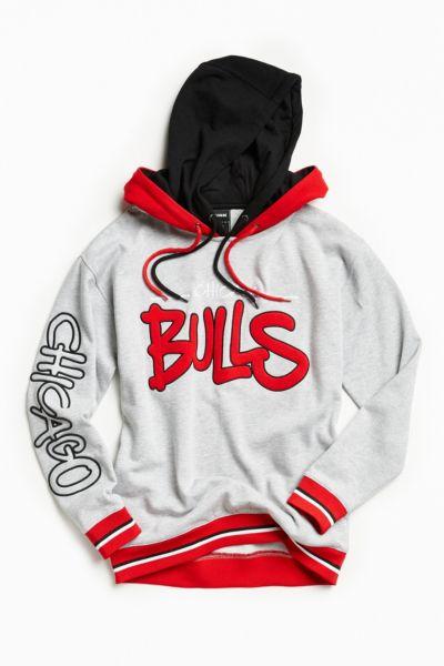Chicago Bulls 1990 Throwback Hoodie Sweatshirt Urban