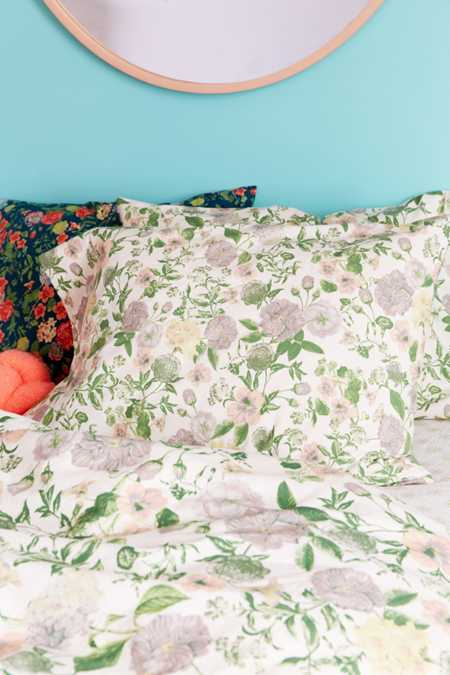 Amara Floral Pillowcase Set