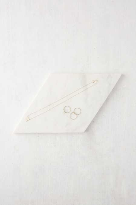 Marble Diamond Catch-All Tray