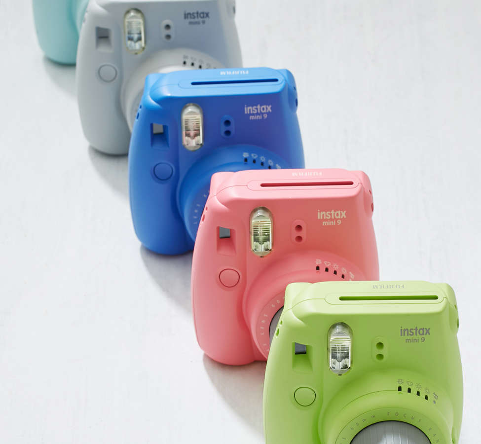 Slide View: 1: Fujifilm Instax Mini 9 Instant Camera