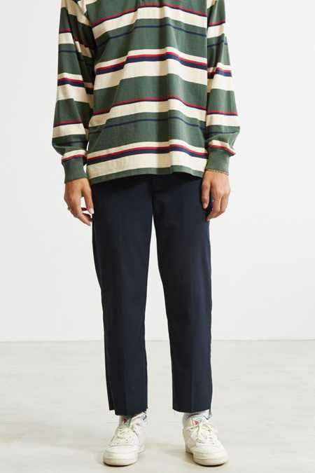 Shore Leave For Urban Outfitters Rory Cutoff Pinstripe Trouser Pant