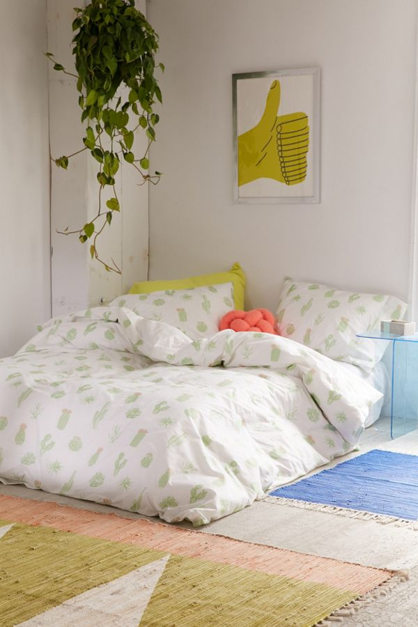 urban outfitters duvet covers Cactus Icon Duvet Cover | Urban Outfitters urban outfitters duvet covers