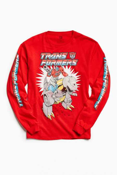 Transformers Grimlock Long Sleeve Tee