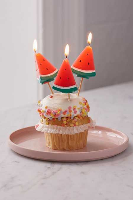 Sunnylife Watermelon Party Candle Set