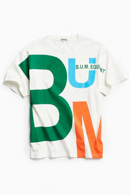 B.U.M. Equipment Oversized Print Tee