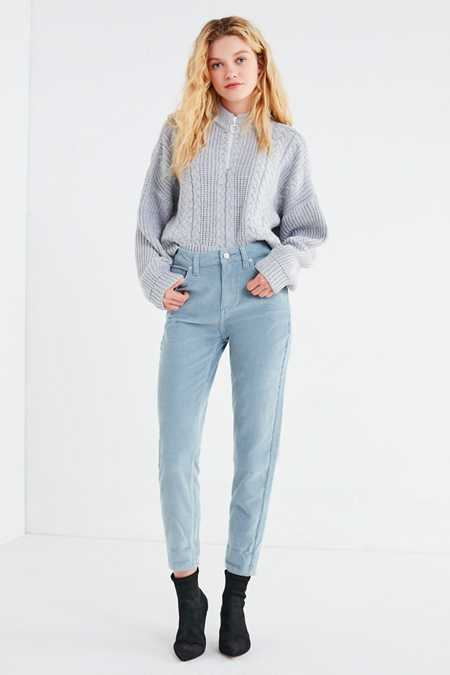 BDG Color Corduroy Mom Pant