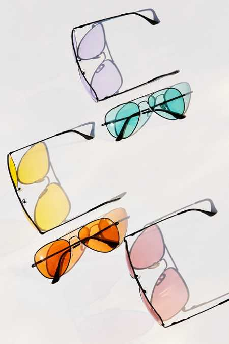 Good Vibes Aviator Sunglasses