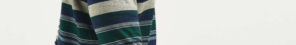 Thumbnail View 3: Le Fix Pattern Knit Zip Polo Shirt