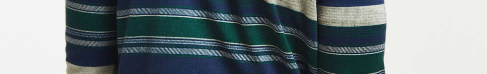 Thumbnail View 4: Le Fix Pattern Knit Zip Polo Shirt