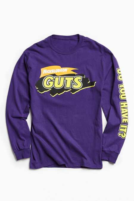 Nickelodeon Guts Long Sleeve Tee