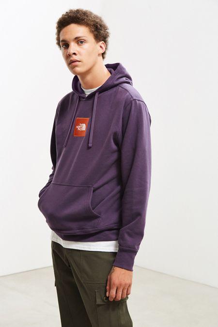 61c79ed89c8 The North Face Embroidered Box Logo Hoodie Sweatshirt