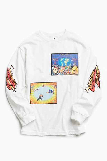 Street Fighter Long Sleeve Tee