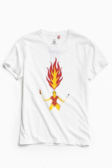 Tee Library Fire Breathing Tee