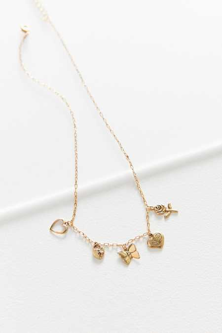 Cora Short Charm Necklace