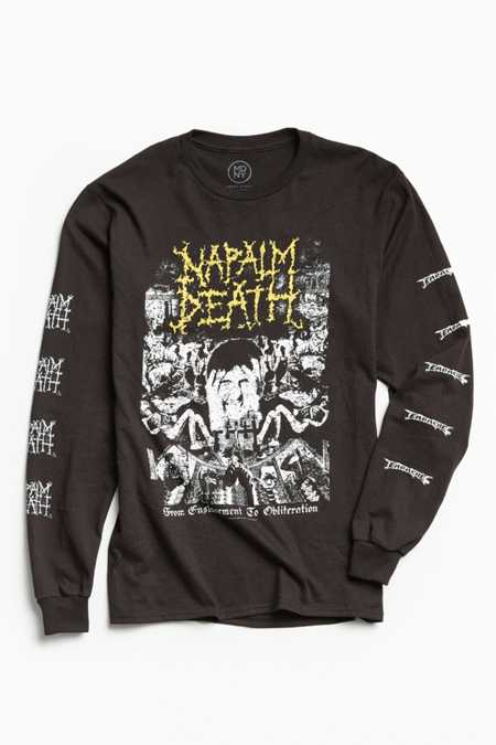 Napalm Death Long Sleeve Tee