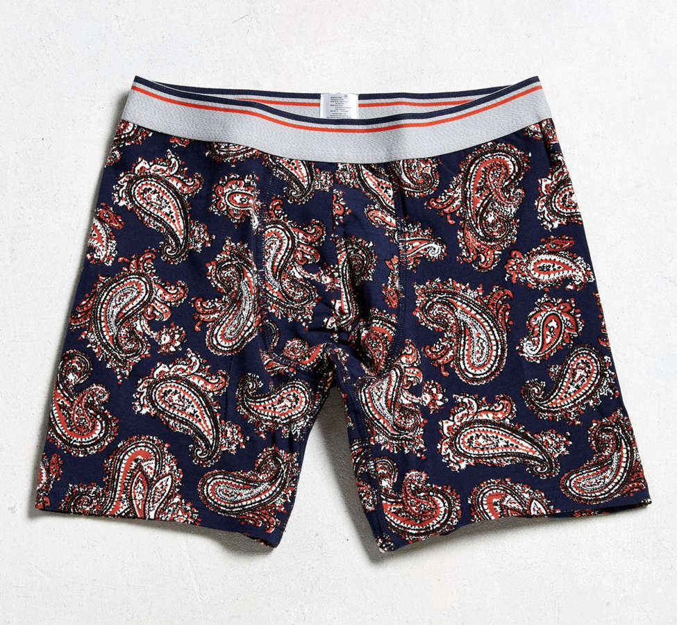 Slide View: 1: Paisley Boxer Brief