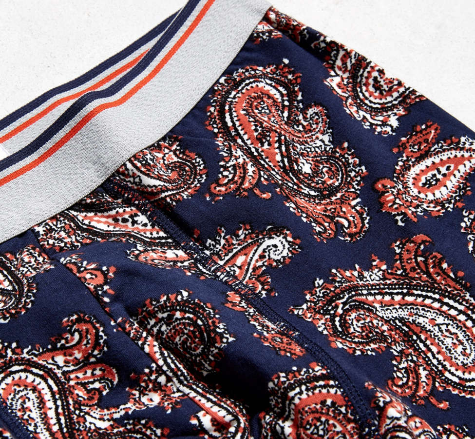 Slide View: 2: Paisley Boxer Brief