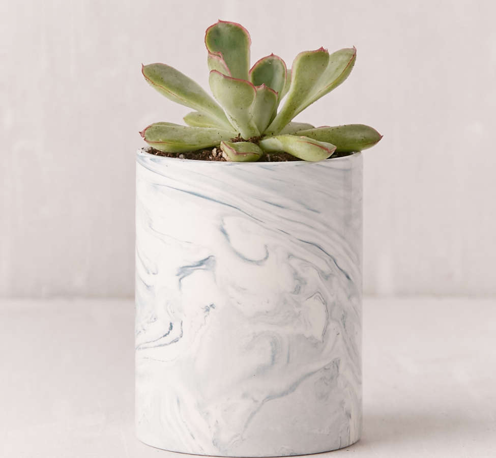 Slide View: 5: Marble Ceramic Soy Candle
