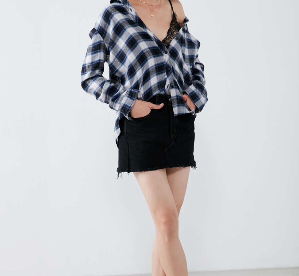 Slide View: 4: BDG Molly Flannel Button-Down Shirt