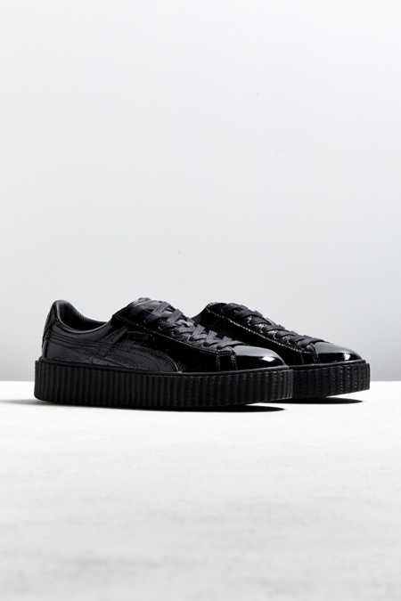 Puma Fenty By Rihanna Mens Cracked Leather Creeper Sneaker