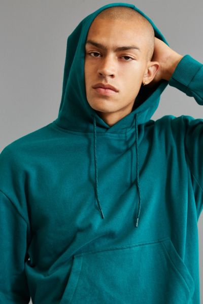 UO Felix Hoodie Sweatshirt - Green S at Urban Outfitters