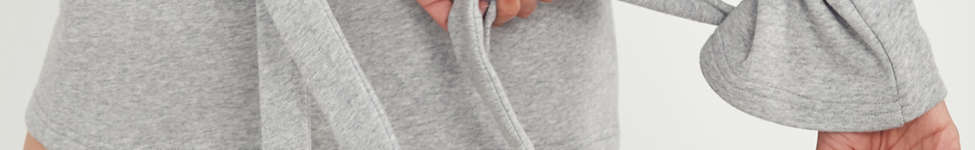 Thumbnail View 2: J.O.A. Crew-Neck Tie-Sleeve Sweatshirt